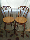 Antique/ Vintage 2 BENTWOOD COUNTER CHAIRS  RADOMSKO MICHAEL THONET