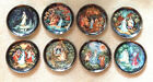 Legend Of Russian Snowmaiden Plates ~ Complete Set of * 8 * NEW ~ BARGAIN Price