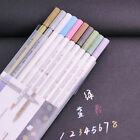 10 pcs Colorful Metallic Waterproof Ink Scrapbook Deco Card Making Marker Pens
