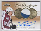 2013-14 Fleer Showcase #207 Nathan MacKinnon Jersey Autograph 124 175 RC Rookie