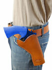 NEW Barsony Saddle Tan Leather Cross Draw Gun Holster for Taurus 4 Revolvers