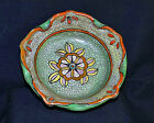 Antique Crafted 1930s SEIEI & CO Lotus Blossom Crackle Glaze Hanging Bowl