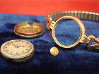 VINTAGE 14K YELLOW GOLD CONCORD WATCH CO. RATTERMANN LADIES WATCH + SPEIDEL BAND