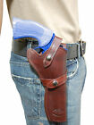 NEW Barsony Burgundy Leather Western Style Gun Holster SmithWesson 6 Revolvers