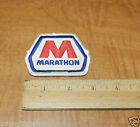 8545/ VINTAGE MARATHON GAS & OIL SERVICE STATION ATTENDENT UNIFORM PATCH ~ NR