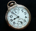 M72 Elgin BW RAYMOND 16s 23j Railroad Grade Pocket Watch Up/Down Wind Indicator