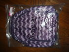 Thirty One Thirtyone Gifts 31 Her Deluxe Backpack BRAND NEW Plum Chevron