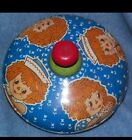 Chein Playthings Spin Top (Raggedy Ann and Andy) Vintage. Working!