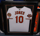 ADAM JONES AUTOGRAPHED BALTIMORE ORIOLES FRAMED AUTHENTIC SIGNED JERSEY MLB HOLO