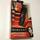 NEW Remington Beard and Mustache Adjustable Trimmer Groomer Rechargeable MB-200
