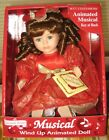 Soft Expressions Hand Painted Bisque Porcelain Wind Up Musical Doll NIB COA