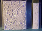 CUTTLEBUG EMBOSSING FOLDERS A2  BORDER SNOW FLURRY A Griffin Christmas