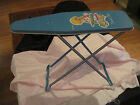 Vintage OHIO ART SUNNIE MISS Metal TOY Ironing Board 1950s to 1960s