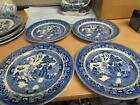 Antique Buffalo Pottery 3 1914 Luncheon Plates 1 1914 9