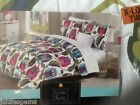 Cynthia Rowley Twin XL Owls Comforter Bedding Set College Dorm Teen Bed Girls