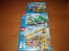 2006 & 2007 Lego Town / City 7905, 7993 & 7998  MISB, Sealed, Brand New