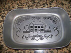 Vintage Wilton Armetale RWP Tray Bless This House