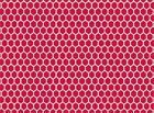 Quilt Fabric by the YARD #9145 Red Rooster Black Tie Boogie Red Fence