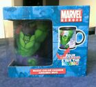 Marvel Spiderman Hulk The Thing Magic Color Changing Mug Superhero Comic Strip