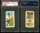 1909 E92 Croft's Candy HONUS WAGNER Throwing HOF Pittsburgh PSA A