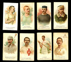 1887 N29 Allen & Ginter Lot of 8 Cards