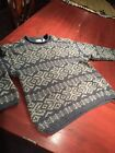 Mens Vintage NORTHWEST TERRITORY XL Ski Lodge style Sweater XL Pre Owned Winter