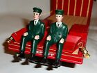 BUDWEISER CLYDESDALE HORSE WAGON MEN (VINTAGE) From Bar Sign-RARE
