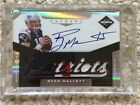 2011 Limited Phenoms Ryan Mallett Auto 3 Color Patch RC 199 Pats Texans Signed