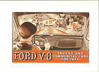 ORIGINAL 1936 FORD V-8 TRUCK AND CAR SALES BROCHURE-SPECIFICATIONS
