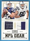 ANDREW LUCK 2 ROOKIE JERSEY LAUNDRY TAG CARD #d6 49 COBY FLEENER COLTS TREASURES