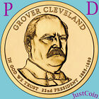 2012 PD SET GROVER CLEVELAND 1st TERM GOLDEN PRESIDENTIAL DOLLARS UNCIRCULATED