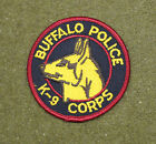 31577) Patch Buffalo New York K-9 Police Canine Department Sheriff Law Enforce