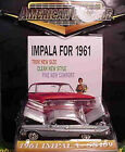 1961 Chevrolet Impala GRAY 1:64 Ertl American Muscle