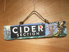 Angry Orchard Hard Cider Wood Sign - New - 24