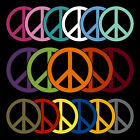 Peace Sign Decal Sticker TONS OF OPTIONS