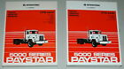 International CTS-4220 1986 Paystar 5000 Series Truck Service Repair Manual NOS