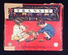 1930s Building Blocks Transit Toy Wood Trains No. 272 THE EMBOSSING CO ALBANY NY