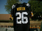ROD WOODSON AUTOGRAPHED WITH HOLOGRAMS AUTHENTIC PITTSBURGH STEELERS JERSEY NEW
