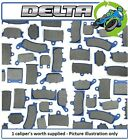 New Kymco Hipster 125 00 125cc Delta Road Front Brake Pads 1Set