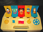 VINTAGE 1980 POPPIN ' PALS MICKEY MOUSE CHILD GUIDANCE TOY DONALD DUCK GOOFY USA