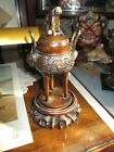 Antique Japanese Tripod Bronze Koro Censer Meiji 19th Century