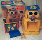 vintage Professor Owl Play Desk set w/Original Box nr complete Kusan/Zoodle Land