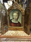 VINTAGE ST. ANNE TRYPTYCH MADE IN ITALY
