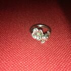 James Avery Retired SS Dogwood With Lady Bug On Blossom Ring Sz. 4 3/4