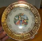 Souvenir of Kansas City Crest O Gold Sabin Collector Plate 22K