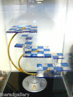 Star Trek 3D Tridimensional Chess Set PLUS Glass Display Case by Franklin Mint