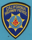 CALIFORNIA HIGHWAY PATROL MASON MASONIC POLICE SHOULDER PATCH