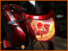 Super Bright Red LED Angel Eye Halo Ring Suits AJS Regal Raptor DD50E-2