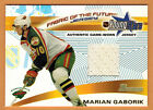 Marian Gaborik Cards, Rookie Cards and Autographed Memorabilia Guide 9