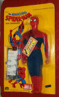 vintage Mego WORLDS GREATEST SUPERHEROES 12 1 2 SPIDER MAN MOC fly away action
